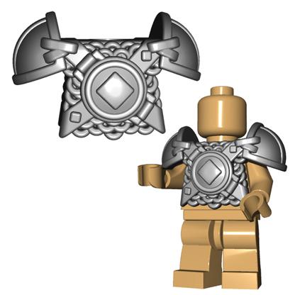 Minifigure Armor - Viking Armor Horned Viking Helmet Goblin Rocket Helmet