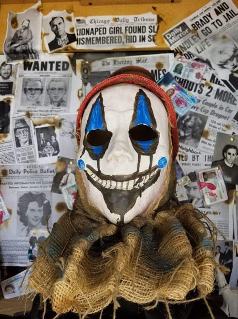 Burlap Clown