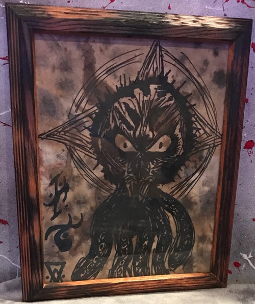 Framed Art - Necronomicon