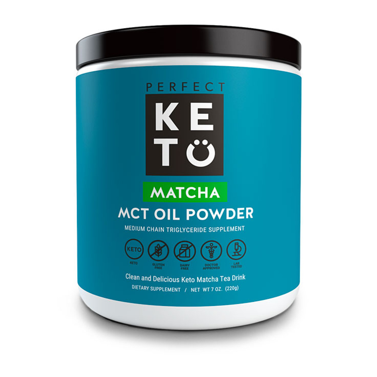 Try Healthy Matcha Green Tea With Low-Carb MCT Oil Powder