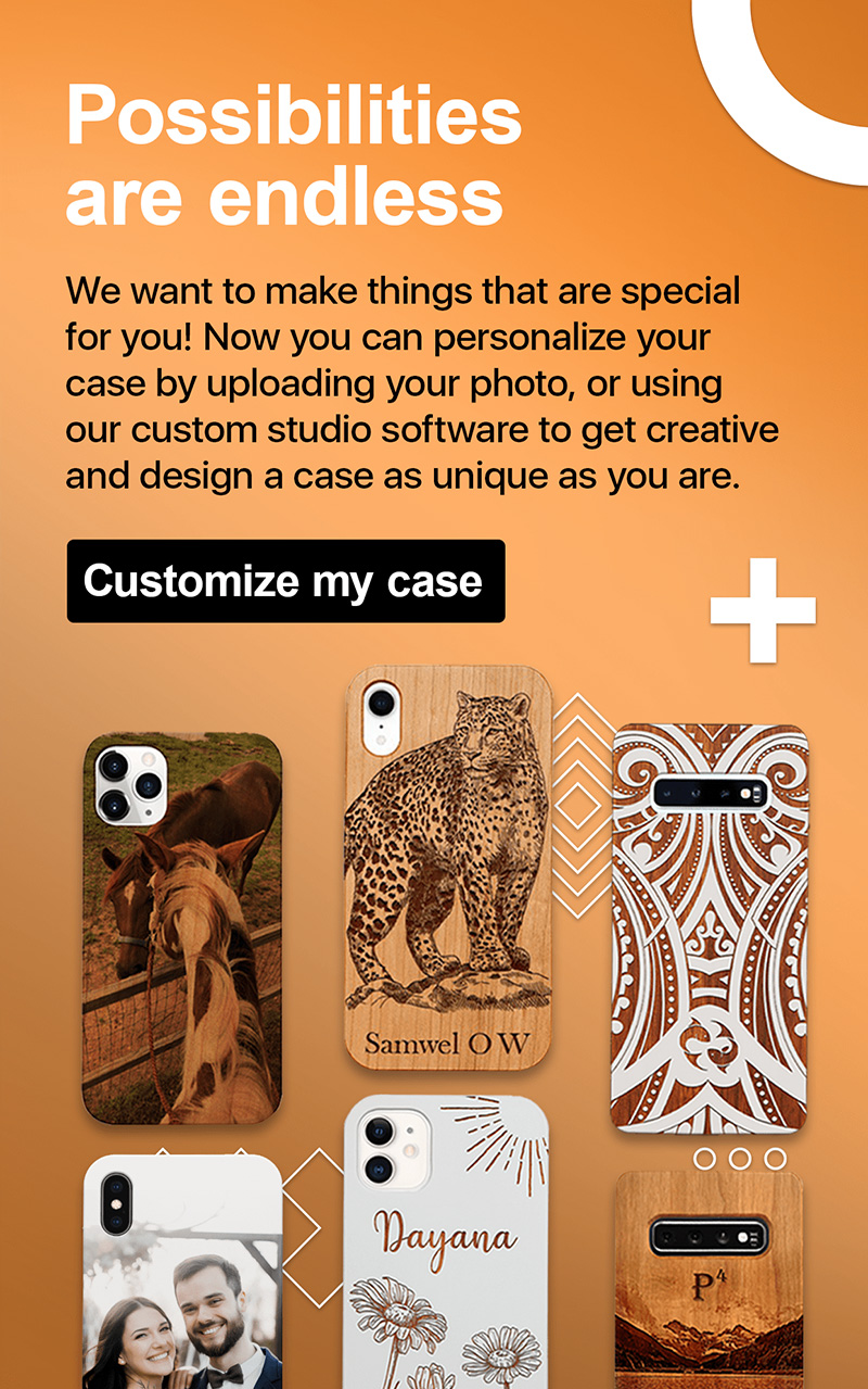 Customized Wooden Phone Case