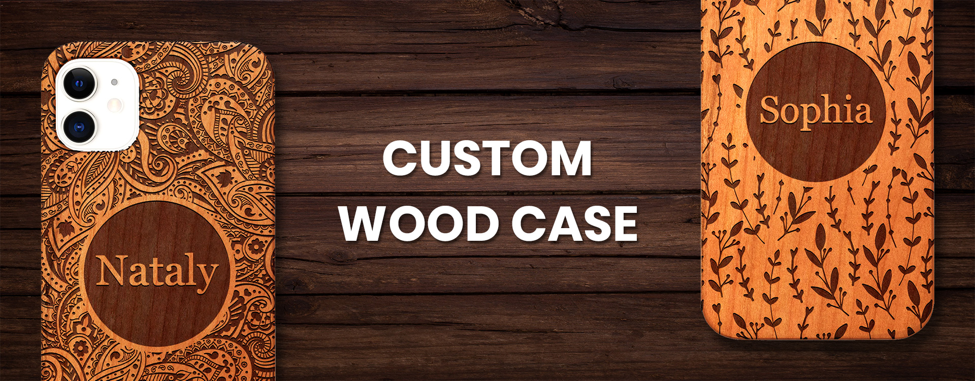 Custom Wood case