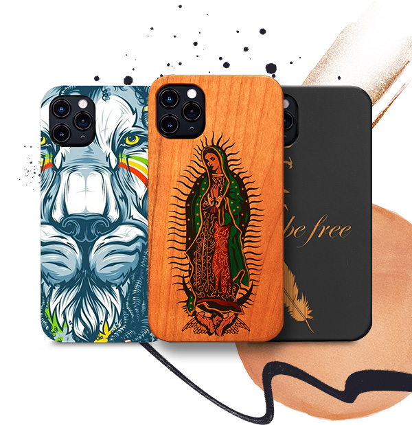 Customized Protective Wood Phone Cases