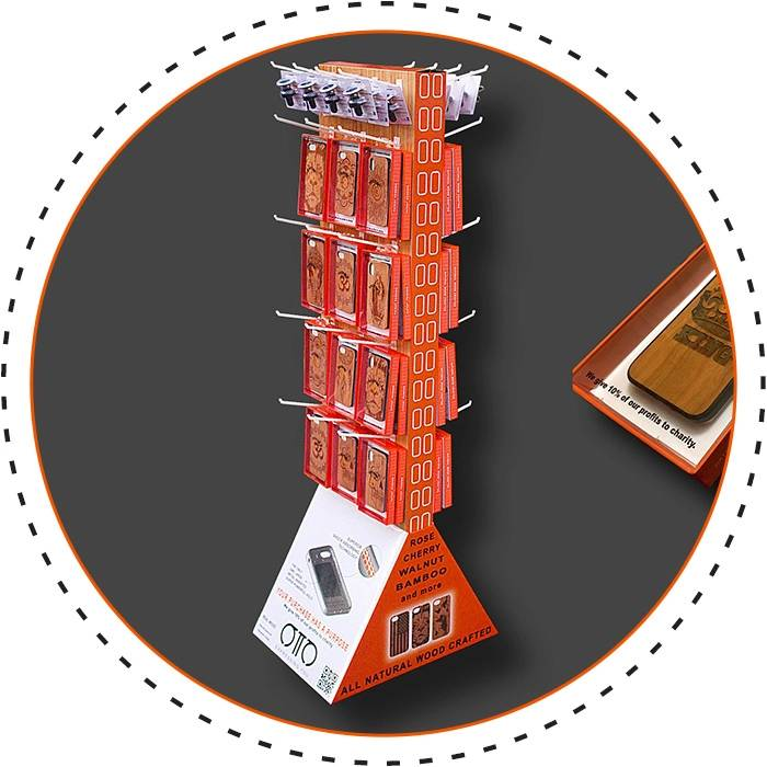 wholesale-wood-phone-cases-stand-alone-display