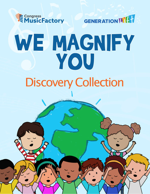 We Magnify You Discovery Workbook Series (Physical Book)