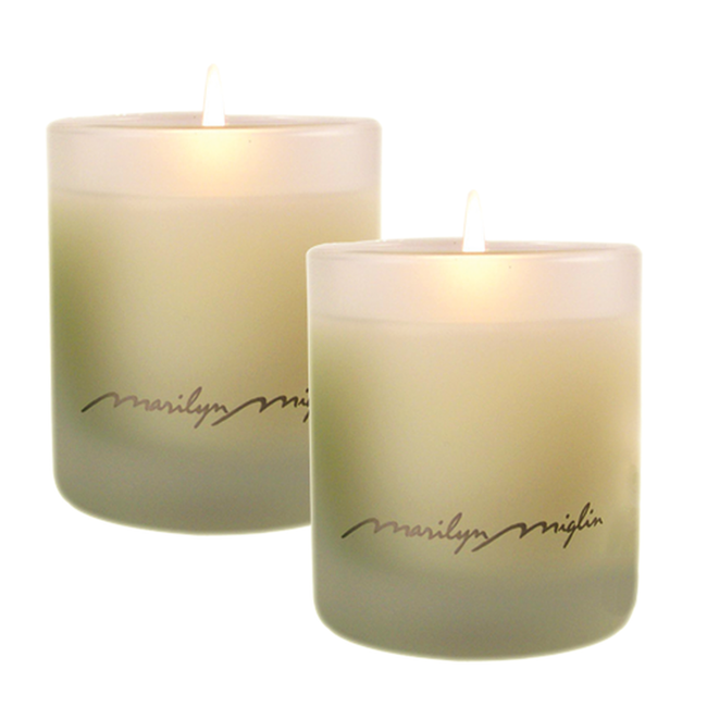 Destiny Scented Candle Duo in White