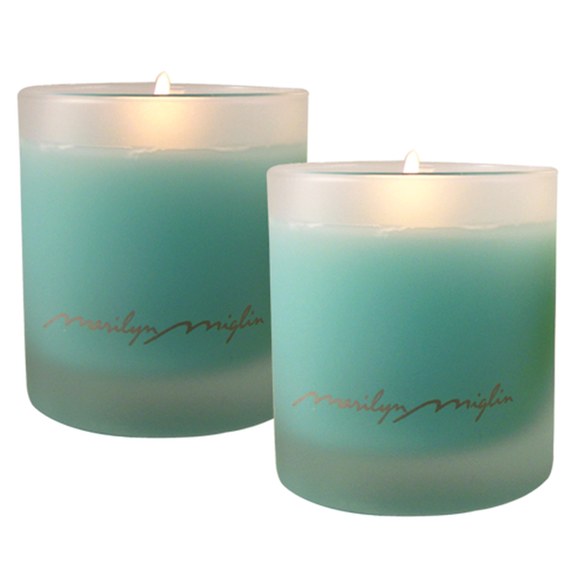 Destiny Scented Candle Duo in Blue