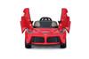 Ferrari LaFerrari power battery car with LED wheels