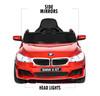 BMW 6 GT Red