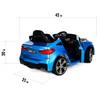 BMW 6 GT Blue