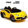 Lamborghini Aventador Yellow