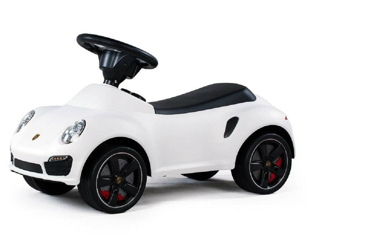 Licensed Porsche 911 Turbo Push Car White Push Cars Wholesale