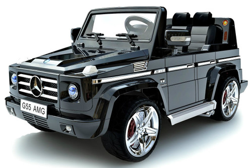 Mercedes g55 black for kids