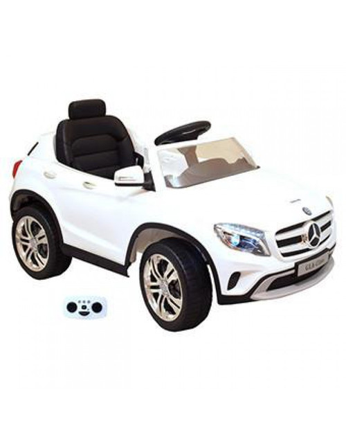 Mercedes ride on car white
