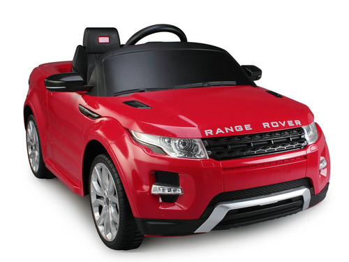 Range Rover red power battery car with LED wheels