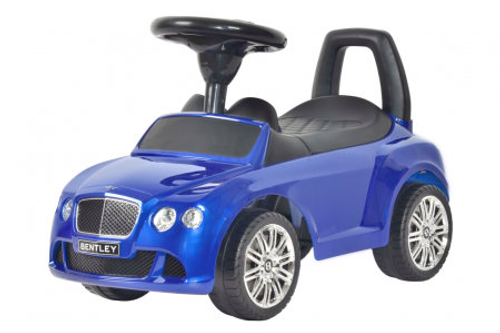 Bentley blue push car for kids