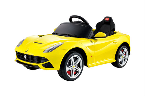 Ferrari power battery car with soft wheels