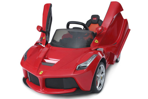 LaFerrari Red electric car