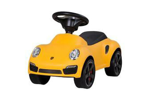 Licensed Porsche 911 Turbo Push Car Yellow