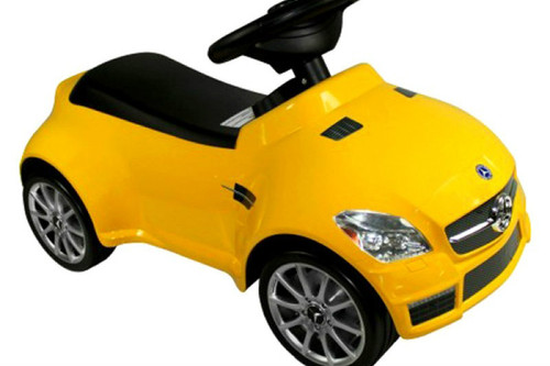 Mercedes-Benz SLK 55 | Yellow
