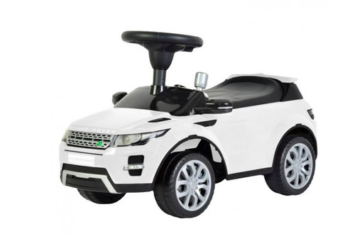 Range Rover push car white