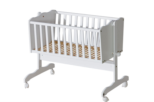 Baby Cradle Basic White