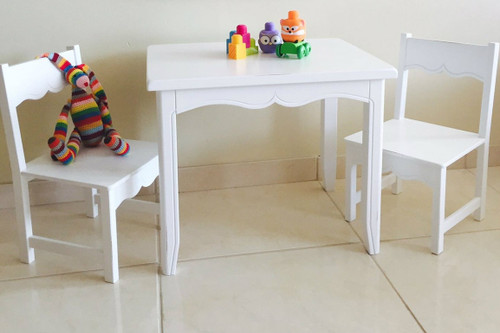 Children's Table And Two Chairs– Provence