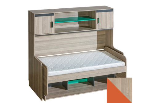 Transformer Bed With Desk And Shelving Unit ULTIMO