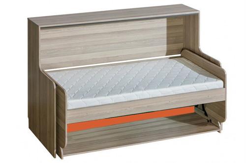 Transformer Bed With Desk ULTIMO Orange