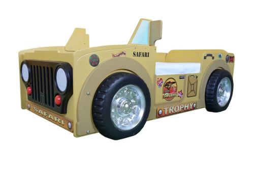 Safari Jeep Toddler Bed