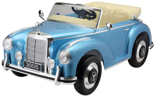 Mercedes 300S Blue