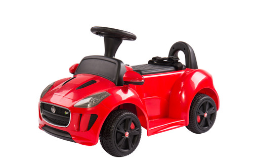 Jaguar Push Car Red
