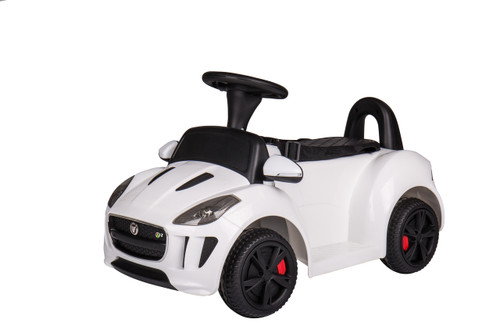 Jaguar Push Car White