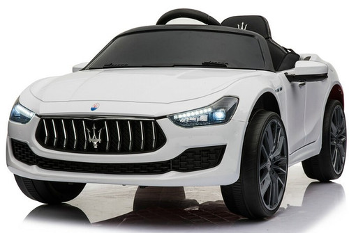 Maserati Ghibli White