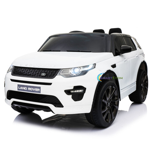Land Rover Discovery | White