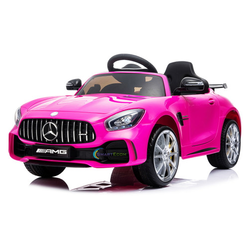 Mercedes GTR pink ride on toy
