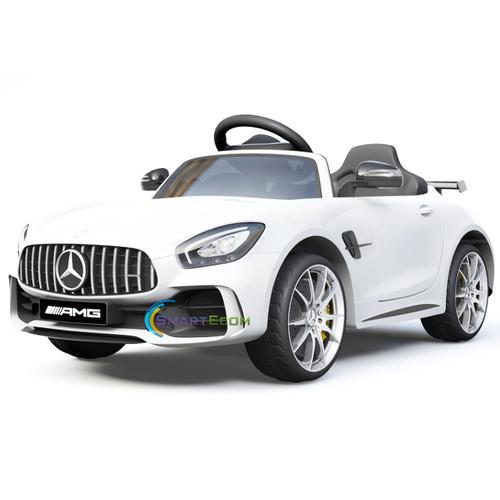 Mercedes GTR white kids car