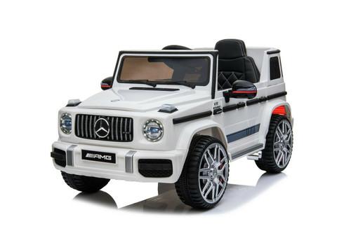 Mercedes G63 White