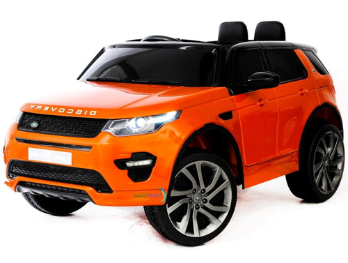 Land Rover Discovery | Orange