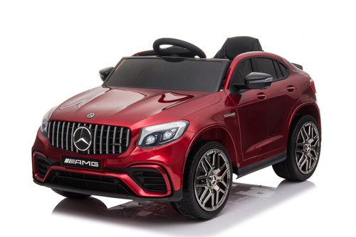 Mercedes GLC63 Red