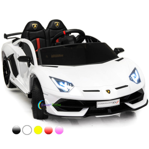 Lamborghini Aventador White