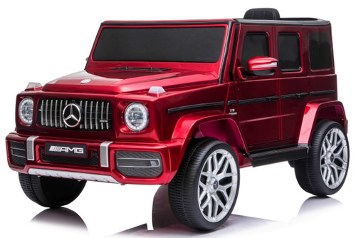 Mercedes G63 Red.