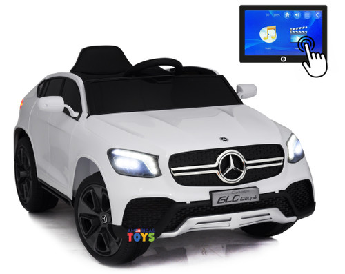 Mercedes GLC Coupe White