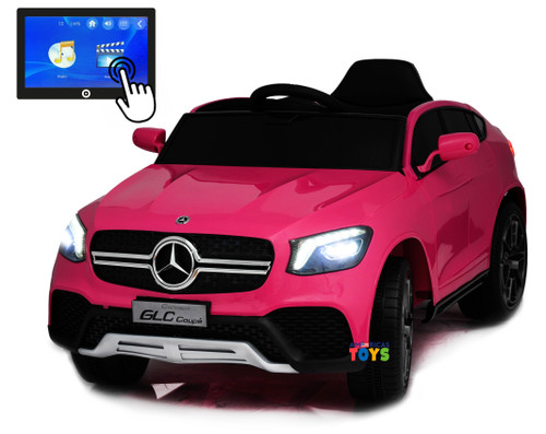 Mercedes GLC Coupe Pink