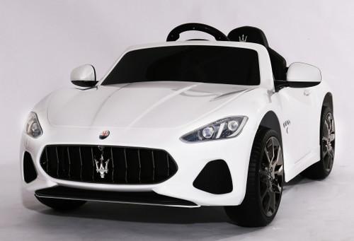 Maserati Gran Cabrio White