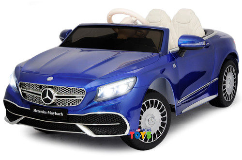 Mercedes Maybach Blue