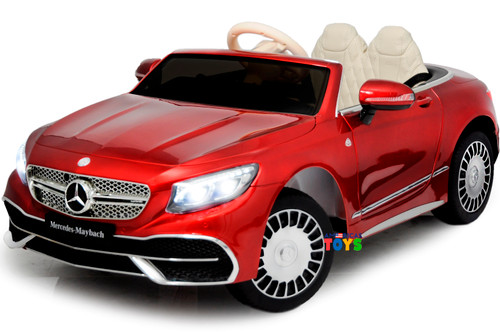 Mercedes Maybach Red