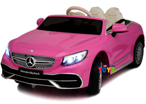 Mercedes Maybach Pink