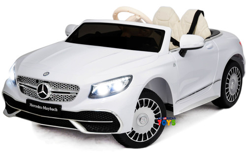 Mercedes Maybach White