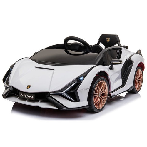 Lamborghini Sian White